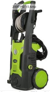 Greenworks 2000 PSI electric pressure washer