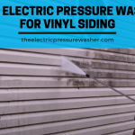 Electric Pressure Washer for Vinyl Siding
