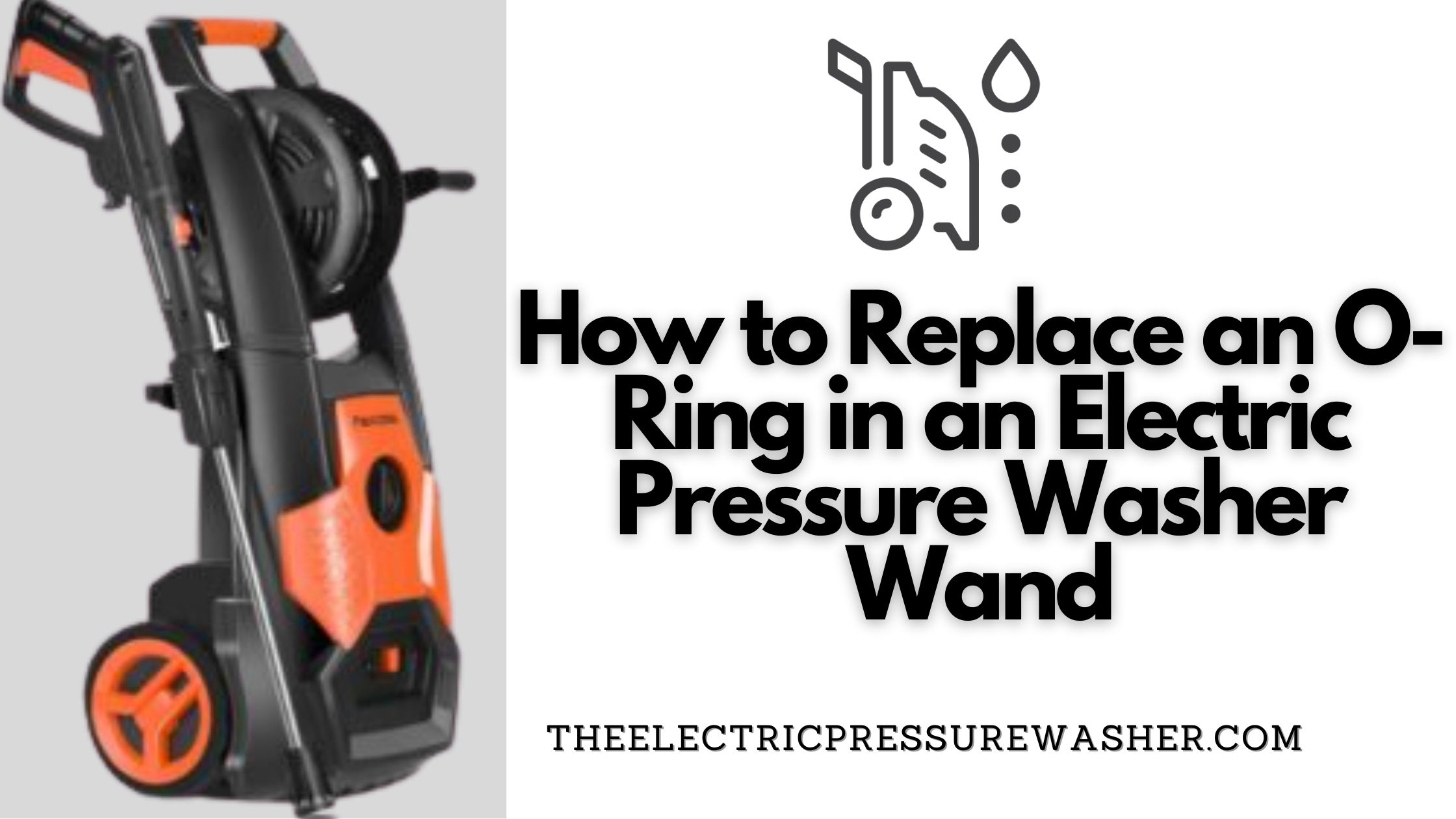 How to Replace an O-Ring in an Electric Pressure Washer Wand