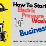 Electric pressure washer business